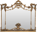 Decorative Arts, French:Other , A FRENCH CARVED GILT WOOD MIRROR, circa 1850. 55 x 72-1/2 x 3inches (139.7 x 184.2 x 7.6 cm). From a Private Dallas Colle...