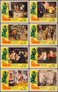 "Movie Posters:Science Fiction, The Day of the Triffids (Allied Artists, 1962). Lobby Card Set of 8(11"" X 14""). Science Fiction.. ... (Total: 8 Items)"