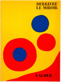 Books:Art & Architecture, [Periodical] Derriere Le Miroir. 1973. Complete issue, containing five original lithographs by Alexander Calder. Ori...