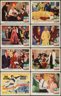 """Movie Posters:Musical, The Barkleys of Broadway (MGM, 1949). Lobby Card Set of 8 (11"""" X 14""""). Musical.. ... (Total: 8 Items)"""