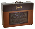 Musical Instruments:Amplifiers, PA, & Effects, Circa 1952 Gibson Les Paul Two-Tone Brown Guitar Amplifier, Serial # 51402....