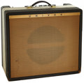 Musical Instruments:Amplifiers, PA, & Effects, 1968 Univox U-202R Grey Guitar Amplifier, Serial # 25176....