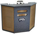 Musical Instruments:Amplifiers, PA, & Effects, 1962 Gibson GA-79 RVT Grey Sparkle Guitar Amplifier, Serial # 160862....