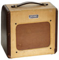 Musical Instruments:Amplifiers, PA, & Effects, Circa 1953 Fender Champion Brown Guitar Amplifier, Serial # 1100....