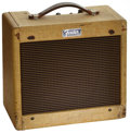 Musical Instruments:Amplifiers, PA, & Effects, 1963 Fender Champ Tweed Guitar Amplifier, Serial # C19991....