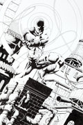 Original Comic Art:Splash Pages, Travis Whelpton Daredevil Pin-Up Original Art (2013)....