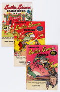 Golden Age (1938-1955):Adventure, Buster Brown Comics Group (Brown Shoe Co., 1946-59) Condition: Average GD.... (Total: 17 Comic Books)