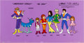 Animation Art:Production Cel, The Partridge Family 2200 AD Size Comparison Model Cel(Hanna-Barbera, 1974)....