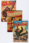 Golden Age (1938-1955):War, G. I. Joe and Other War Titles Group (Ziff-Davis, 1951-57)Condition: Average VG.... (Total: 16 Comic Books)