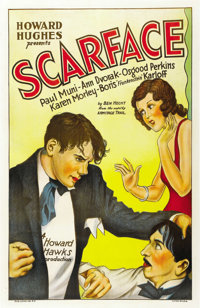 "Scarface (United Artists, 1932). One Sheet (27"" X 41"")"