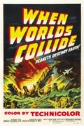 "Movie Posters:Science Fiction, When Worlds Collide (Paramount, 1951). One Sheet (27"" X 41""). ..."