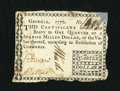 Colonial Notes:Georgia, Georgia 1776 $1/4 Fine-Very Fine. ...