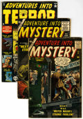 Silver Age (1956-1969):Horror, Adventure Into Mystery and Adventures into Terror Group (Atlas,1952-57) .... (Total: 3 Comic Books)
