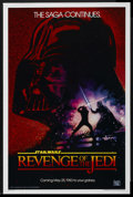 "Movie Posters:Science Fiction, Revenge of the Jedi (20th Century Fox, 1982). One Sheet (27"" X 41"")Advance. Science Fiction. ..."