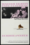 "Movie Posters:Crime, Bonnie and Clyde (Warner Brothers, 1967). One Sheet (27"" X 41"").Crime. ..."