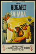"Movie Posters:War, Sahara (Columbia, 1940s). Post-War French Poster (30.5"" X 45"").War. ..."