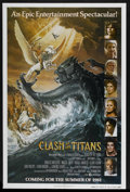 "Movie Posters:Fantasy, Clash of the Titans (MGM, 1981). One Sheet (27"" X 41"") Advance.Fantasy. ..."
