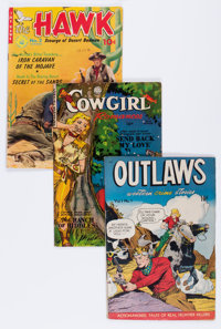 Comic Books - Assorted Golden and Silver Age Western Comics Group (Various Publishers, 1948-57) Condition: Average VG...
