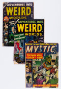Golden Age (1938-1955):Horror, Atlas Horror Group (Atlas, 1950s) Condition: Average FR/GD....(Total: 10 Comic Books)