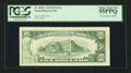Error Notes:Ink Smears, Fr. 2018-L $10 1969 Federal Reserve Note. PCGS Choice About New55PPQ.. ...
