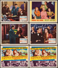 "Movie Posters:Adventure, The Snows of Kilimanjaro & Others Lot (20th Century Fox, 1952).Title Lobby Cards (3) & Lobby Cards (8) (11"" X 14""). Adventu...(Total: 11 Items)"