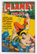 Golden Age (1938-1955):Science Fiction, Planet Comics #62 (Fiction House, 1949) Condition: VG/FN....