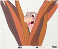 Animation Art:Production Cel, The Land Before Time Littlefoot Production Cel Setup(Sullivan Bluth/Amblin, 1988)....