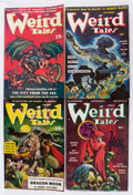 Pulps:Horror, Weird Tales Group (Popular Fiction, 1940-48) Condition: AverageFN.... (Total: 8 Items)