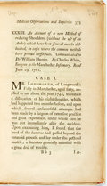 Books:Medicine, Charles White. An Account of a new Method of reducing Shoulders,(without the use of an Ambe) which have been several mo...