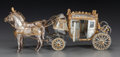 Silver Holloware, American:Other , AN AMERICAN SILVER AND SILVER GILT NAPOLEONIC COACH MODEL, Designedby Fisher Body Division of General Motors Corporation, M... (Total:3 Items)