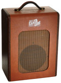 Musical Instruments:Amplifiers, PA, & Effects, 1950's Flot-A-Tone Brown Guitar Amplifier....