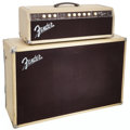 Musical Instruments:Amplifiers, PA, & Effects, 1961 Fender Bandmaster Blonde Guitar Amplifier, Serial # 02643....