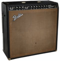 Musical Instruments:Amplifiers, PA, & Effects, 1964 Fender Super Reverb Black Guitar Amplifier, Serial #A00521....