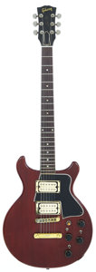 Musical Instruments:Electric Guitars, 1962 Gibson Les Paul Special Cherry Solid Body Electric Guitar,Serial # 22486....