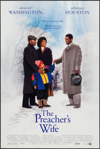 "The Preacher's Wife & Other Lot (Buena Vista, 1996). One Sheets (2) (26.5"" X 39.5"") DS. Romance. ... (Tota..."