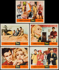 "Movie Posters:Foreign, Topkapi (United Artists, 1964). Lobby Cards (5) (11"" X 14"") and Uncut Pressbook (12 Pages, 13.5"" X 18"") Foreign.. ... (Total: 6 Items)"
