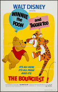 "Movie Posters:Animation, Winnie the Pooh and Tigger Too! (Buena Vista, 1974). One Sheet (27"" X 41"") Flat Folded. Animation.. ..."