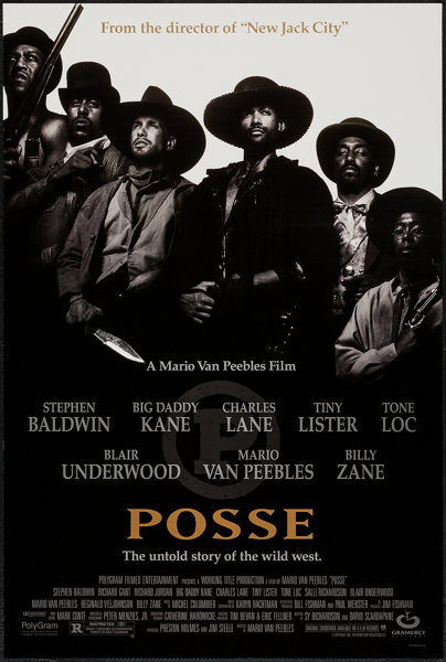 Posse (Gramercy, 1993)  One Sheets (2) (27