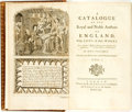 Books:Reference & Bibliography, Horace Walpole. A Catalogue of the Royal and Noble Authors ofEngland. London: R. & J. Dodsley and J. Graham, 17...(Total: 2 Items)