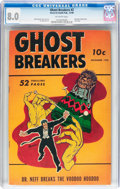 Golden Age (1938-1955):Horror, Ghost Breakers #2 (Street & Smith, 1948) CGC VF 8.0 Off-whitepages....