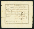 Colonial Notes:Connecticut, Connecticut Pay Table Office £6 3s 6d March 26, 1783 Very Fine.....