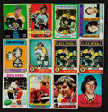 Hockey Cards:Lots, 1970's Topps & O-Pee-Chee Bobby Orr Card Collection (12). ...