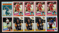 Hockey Cards:Lots, 1980's Topps & O-Pee-Chee Hockey Superstars Card Collection(18) - Most Rookies! ...
