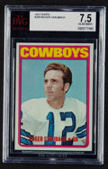Football Cards:Singles (1970-Now), 1972 Topps Roger Staubach #200 BVG NM+ 7.5....