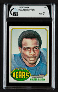 Football Cards:Singles (1970-Now), 1976 Topps Walter Payton #148 GAI NM 7....