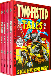 EC The Complete Two-Fisted Tales Slipcased Book Set (Russ Cochran, 1980)