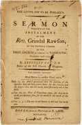 Books:Religion & Theology, Gay, Ebenezer: THE LEVITE NOT TO BE FORSAKEN. A SERMON PREACHED...DECEMBER 10TH 1755. THE SECOND EDITION. WITH NOTES BY AN...
