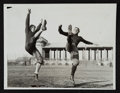 Football Collectibles:Photos, 1934 Clarke Hinkle and Arnie Herber Original Photograph - First Generation....