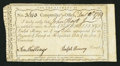 Colonial Notes:Connecticut, Connecticut Interest Certificate 10s December 10, 1789 Anderson CT-53 Fine, CC.. ...