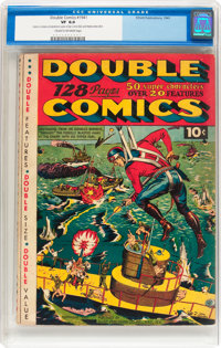 Double Comics 1941 (Elliot, 1941) CGC VF 8.0 Cream to off-white pages